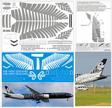 1/144 Boeing 777-300 PAS-DECALS Revell Zvezda Air New Zealand BLAСK