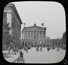 Glass Magic Lantern Slide THE NATIONAL GALLERY BERLIN C1890 GERMANY