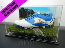 Signed DEAN COX Football Boot PROOF COA West Coast Eagles 2016 Guernsey