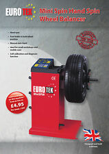 Eurotek Mini-Spin Wheel Balancer Van Balancer ( 2 Year warranty)