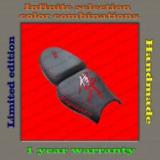 Design Seat Cover Suzuki GSX1300R Hayabusa 99-07 black+red-gloss 001_1