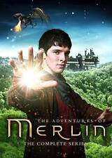 Merlin: The Complete Series (DVD, 2014, 24-Disc Set) W/Bonus Features & Magnets