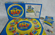 THE 80's TRIVIA BOARD GAME NEW In Box 100% Complete 1980 Sports Music TV Movies!