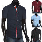 Big Sale Men's Slim Fit Shirt Summer Short Sleeve Casual Polo T-Shirts Tee Tops