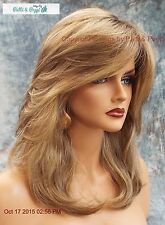Mackenzie Lace Front Part Designer Wig ELEGANT SHARP ROOTED BLONDE ✮ RH1226RT4 ✮