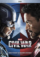 Captain America: Civil War (DVD, 2016) Factory Sealed New Marvel Free shipping