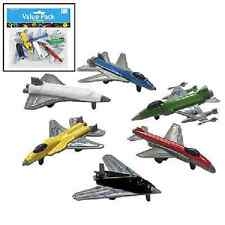 Plastic Airplanes 6 pc - PARTY FAVORS (85/2868V)