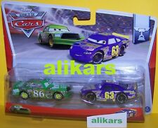 B2 - CHICK HICKS 86 + TRANSBERRY JUICE 63 -#5, 6 Piston Cup Disney Cars voitures