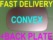 PEUGEOT 306 1993-2002 DOOR WING MIRROR GLASS CONVEX +PLATE RIGHT OR LEFT