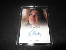 Heroes Autograph Trading Card Lisa Lackey (Holder)
