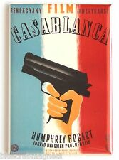 Casablanca (Poland) FRIDGE MAGNET movie poster humphrey bogart polish
