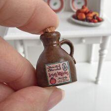 Pure Old Glendad Irish Whiskey Jug #2 Alex Meiklejohn - Dollhouse Miniatures