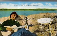 1939 Strumming away my Negro blues on a guitar down South