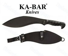 Ka-Bar - Black Kukri Machete w/ Sheath 1249 NEW
