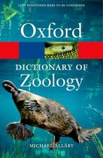 A Dictionary of Zoology 4/e (Oxford Quick Reference) (Paperback),. 9780199684274