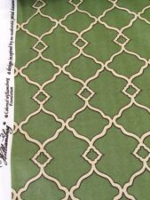 Waverly williamsburg chippendale fretwork moss print outdoor fabric by the yard