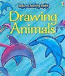 Drawing Animals [With Attached Book and Crayons and Paint Pots] Usborne Activit
