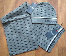 New Men`Scarf and Hat  Armani Jeans