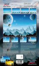 HARDER & STEENBECK AIRBRUSH STENCILS - SPACE LANDSCAPE
