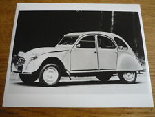 "CITROEN 2 CV  PRESS PHOTO/ ""CAR BROCHURE"""