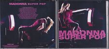 MADONNA SUPERPOP REMIX PROMO CD SINGLE