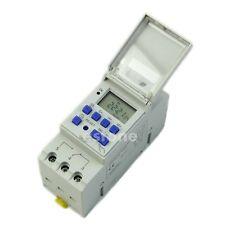 Commutateur AC 220V 16A Rail DIN numérique minuterie programmable