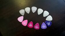Dunlop Nylon Glow Plus Delrin Plectrum Set
