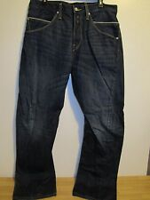 MEN'S LEVI'S ENGINEERED TWISTED SEAM JEANS 34X32 EUC