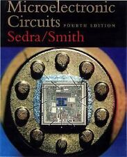 MICROELECTRONIC CIRCUITS fourth edition Sedra/Smith with CD FREE shipping