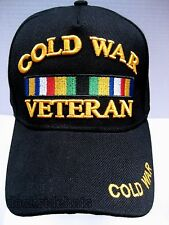 COLD WAR VETERAN  Cap/Hat Black NEW Military FREE Shipping
