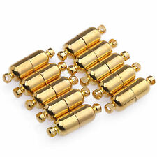 5Pcs Gold Plated Strong Magnetic Clasp Hook Jewelry Findings DIY Crafts 19MM