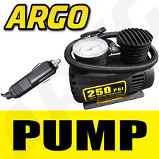 ELECTRIC 12 V PUMP WITH CAR ADAPTER FOR AIR BEDS, BIKE, FOOTBALL ETC
