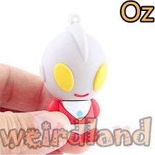 Ultraman USB Stick, 16GB 3D Quality USB Flash Drives WeirdLand