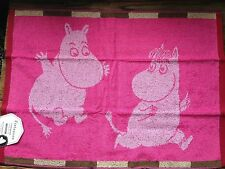 Moomin Ruutumuumi.towel, 70x50cm, Finlayson, from Finland, red