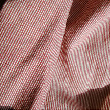 """Cotton Fabric Washed pre dyeing Stripe by the yards 44"""" Cozy pre dyeing Stripe"""