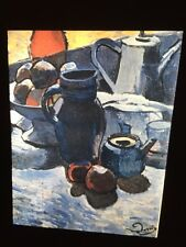 """Andre Derain """"Still Life W/ Pitcher"""" Fauvism French Art 35mm Glass Slide"""