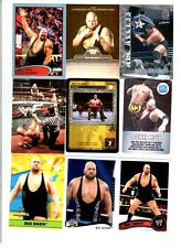 Big Show Wrestling Lot of 9 Different Trading Cards 2 Inserts WWE TNA BS-H1