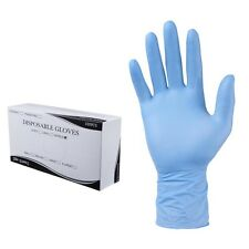 1000/Cs Nitrile Disposable Gloves Powder Free Non Latex Vinyl Exam Size: Medium