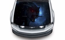High quality hood wrap vinyl decal (suitable for any car) Wolf