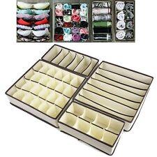 4 Pack Aufbewahrung Lösung Box Kleiderschrank Organizer Schublade Bra Socken BH