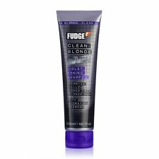 Fudge Clean Blonde Violet Tonning Shampoo 300ml + FREE GAURANTEED DELIVERY