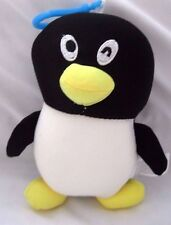 Snow Foam Micro Beads Penguin Cushion/Pillow Backpack/Purse Clip-Brand New!