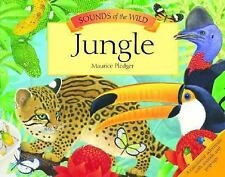 Sounds Of The Wild Jungle Children's Hard Cover Book 2008