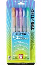 Sakura Gelly Roll Silver Shadow Pen Set - Outlining Gel Ink - 5 Colors - 58530