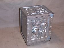 Antique Kenton Cast Iron Still Bank The Bank Of Industry Safe Combination Lock