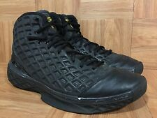 RARE�� Nike Zoom Kobe III 3 Anthracite Black Varsity Maize Sz 10 318090-012 Worn