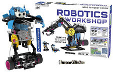 Thames & Kosmos ROBOTICS WORKSHOP Intro to Robot Design Creative STEM Education