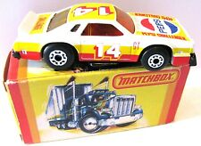 Matchbox Lesney Chevy Challenger Pro Stocker Toy Car Superfast Wheels 34 1980