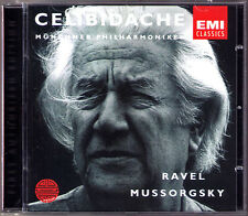 Sergiu CELIBIDACHE: MUSSORGSKY Pictures at an Exhubition RAVEL Bolero CD Munich