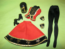 Barbie Doll FAO SCHWARZ Model Muse Size TOY SOLDIER OUTFIT Complete w/ Hat Boots